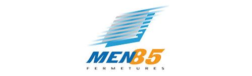 Logo Men85- Partenaire pour les portails et les portes de garages de la Menuiserie Marquis